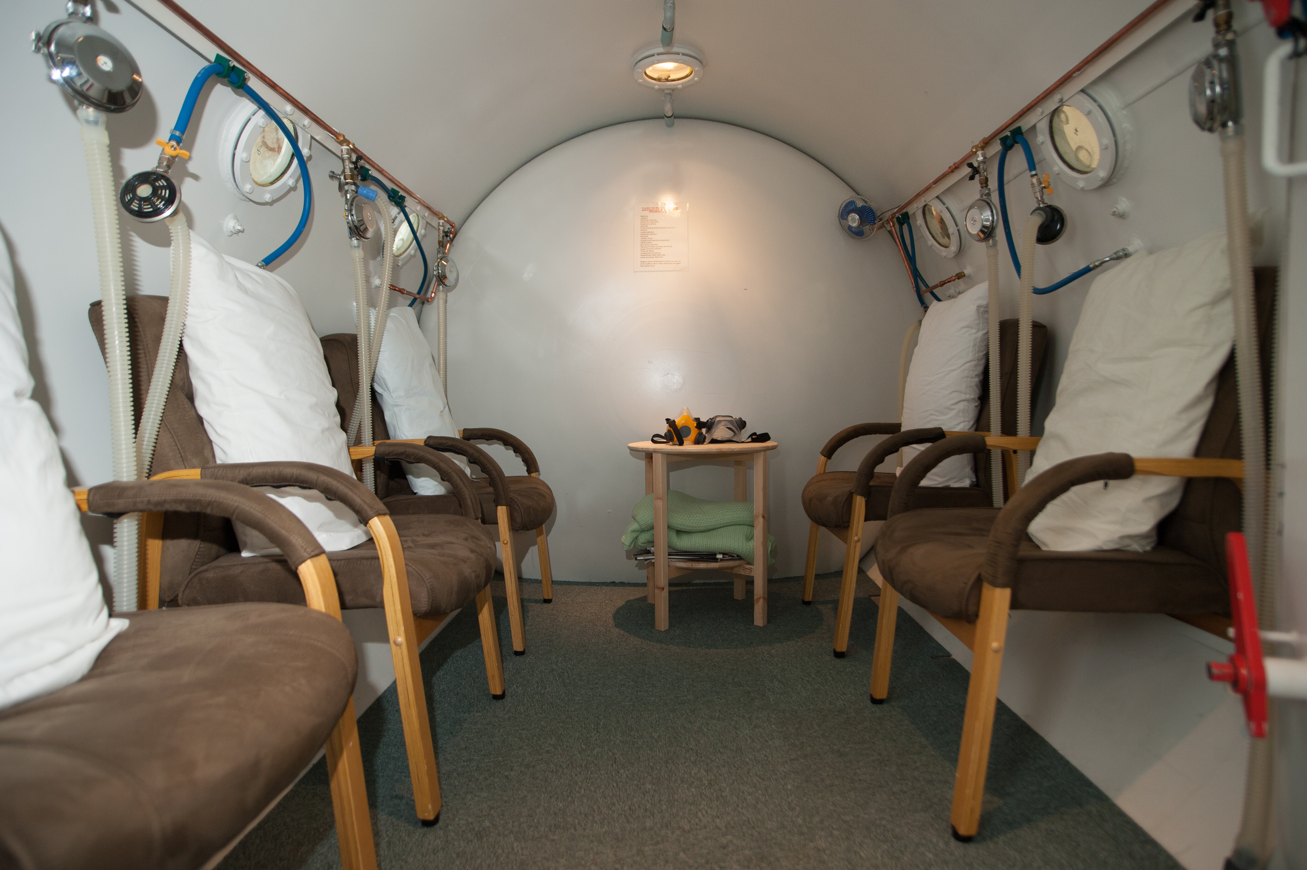 The Hyperbaric Chamber at Kent Oxygen Therapy